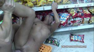 Image Fudeu a loira gostosa dentro do supermecado