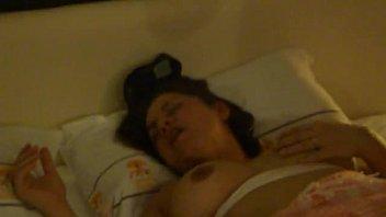 Câmera escondida do marido corno filmando tudo