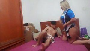 Image Raiele no sexo oral com o namorado