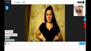 Image Anonima dos Peitos grandes na web-cam