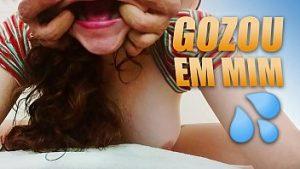 Image Gozou na cara da novinha rica